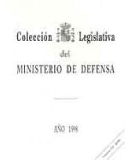 COLECCIÓN LEGISLATIVA DEL MINISTERIO DE DEFENSA. AÑO 1998 (Papel y CD-ROM)