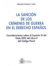 SANCIÓN DE LOS CRÍMENES DE GUERRA, LA
