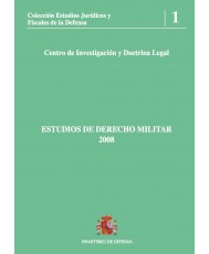 ESTUDIOS DE DERECHO MILITAR 2008