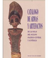 CATÁLOGO DE ARMAS Y ARTEFACTOS DE LAS ISLAS DEL OCÉANO PACÍFICO CENTRAL Y AUSTRALIA.