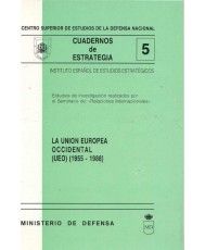 UNIÓN EUROPEA OCCIDENTAL (UEO) (1955-1988)