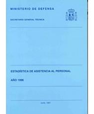 ESTADÍSTICA DE ASISTENCIA AL PERSONAL. APOYO AL PERSONAL 1996