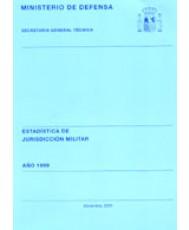 ESTADÍSTICA DE JURISDICCIÓN MILITAR 1999