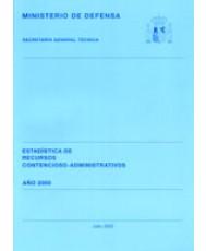 ESTADÍSTICA DE RECURSOS CONTENCIOSO-ADMINISTRATIVOS 2000