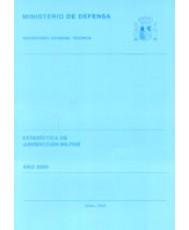 ESTADÍSTICA DE JURISDICCIÓN MILITAR 2000