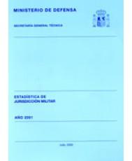 ESTADÍSTICA DE JURISDICCIÓN MILITAR 2001