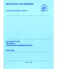 ESTADÍSTICA DE RECURSOS CONTENCIOSO-ADMINISTRATIVOS 2003