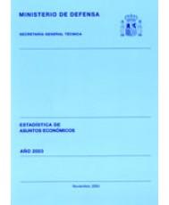 ESTADÍSTICA DE ASUNTOS ECONÓMICOS 2003