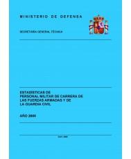 ESTADÍSTICA DEL PERSONAL MILITAR DE CARRERA DE LAS FUERZAS ARMADAS Y DE LA GUARDIA CIVIL 2005