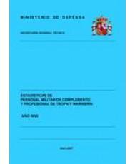 ESTADÍSTICA DEL PERSONAL MILITAR DE COMPLEMENTO Y PROFESIONAL DE TROPA Y MARINERÍA 2006