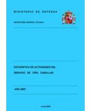ESTADÍSTICA DE ACTIVIDADES DEL SERVICIO DE CRÍA CABALLAR 2007