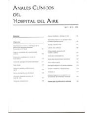 ANALES CLÍNICOS HOSPITAL DEL AIRE 1999