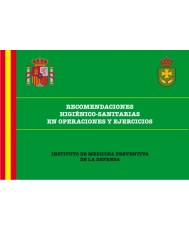 RECOMENDACIONES HIGIÉNICO-SANITARIAS EN OPERACIONES Y EJERCICIOS.