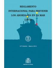 REGLAMENTO INTERNACIONAL PARA PREVENIR LOS ABORDAJES EN LA MAR (1972). 12ª EDICIÓN