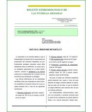 BOLETÍN EPIDEMIOLÓGICO DE LAS FUERZAS ARMADAS VOL. 21 Nº 254 DICIEMBRE 2014