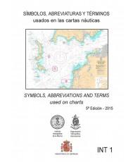 SÍMBOLOS, ABREVIATURAS Y TÉRMINOS USADOS EN LAS CARTAS NÁUTICAS. 5 ª EDICIÓN – 2015