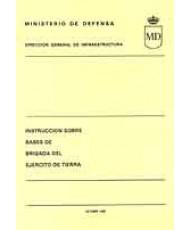 INSTRUCCIÓN DE BASES DE BRIGADA DEL EJÉRCITO DE TIERRA