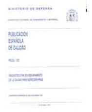 PECAL 131. REQUISITOS OTAN DE ASEGURAMIENTO DE LA CALIDAD PARA INSPECCIÓN FINAL
