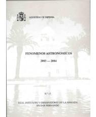FENÓMENOS ASTRONÓMICOS 2005-2006
