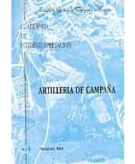 CUADERNO DE FOTOINTERPRETACIÓN Nº 3. ARTILLERÍA DE CAMPAÑA