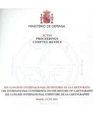 ACTAS DEL XIX CONGRESO INTERNACIONAL DE HISTORIA DE LA CARTOGRAFÍA