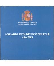 ANUARIO ESTADÍSTICO MILITAR 2003