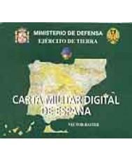 CARTA MILITAR DIGITAL DE ESPAÑA VECTOR-RASTER