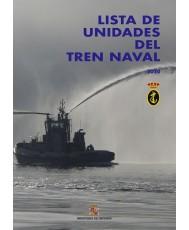 Lista de unidades del tren naval 2020