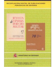 REVISTA ESPAÑOLA DE DERECHO MILITAR (NÚMEROS DEL 1 AL 82)
