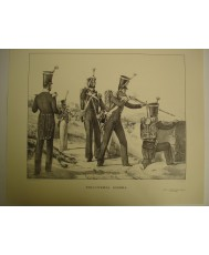 INFANTERIA LIGERA (1830), LAMINA