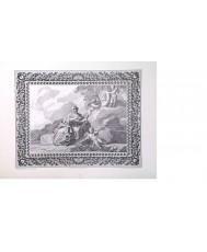 MATRONA Y NIÑO REPRESENTANDO LA ARTES CON LA EFICIE DEL REY. 1775