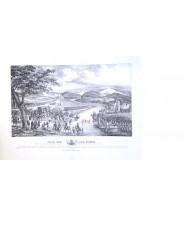 PASO DEL RIO FLUVIA POR S.M.EL REY D.FERNANDO VII 24/03/1814 VUELTA DE FRANCIA