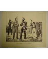 REAL CUERPO DE INGENIEROS (1830), LAMINA