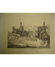 ARTILLERIA DE LA GUARDIA REAL (1830), LAMINA
