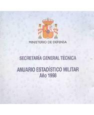 ANUARIO ESTADÍSTICO MILITAR 1998