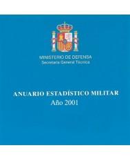 ANUARIO ESTADÍSTICO MILITAR 2001