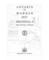 ANUARIO DE MAREAS REGIONAL 5. ISLAS CANARIAS ORIENTALES. 2017