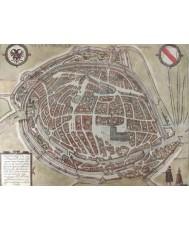 ARGENTORATUM (ESTRASBURGO). En Civitatis Orbis Terrarum. Colonia. 1582