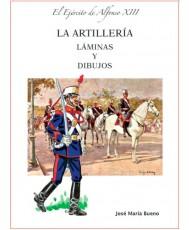 EL EJÉRCITO DE ALFONSO XIII. LA ARTILLERÍA. LÁMINAS.