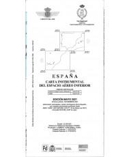 España. Carta instrumental del espacio aéreo inferior. Edición mayo 2021