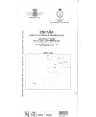 España. Carta de áreas terminales. Edición mayo 2021