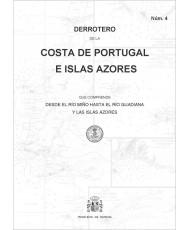 DERROTERO DE LA COSTA DE PORTUGAL E ISLAS AZORES. Núm. 4. 4ª EDICIÓN 2019