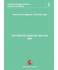 ESTUDIOS DE DERECHO MILITAR 2009
