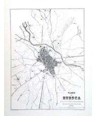 HUESCA 1885, PLANO CIUDAD