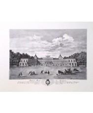 ARANJUEZ, PALACIO REAL. POR DOMINGO DE AGUIRRE, AÑO 1773 (UNICOLOR P.GOFR.)