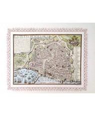 PALMA DE MALLORCA, PLANO CIUDAD AÑO 1644