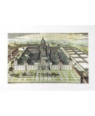 SAN LORENZO DEL ESCORIAL, LAMINA (ATLAS MAYOR-ESPAÑA-AMSTERDAM 1672)