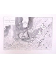 BURGOS, PLAN DU CHATEAU 1812 POR EL EJERCITO FRANCES