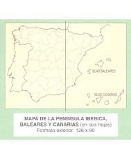 MAPA DE ESPAÑA (2 Hojas)