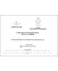 CARTA DE NAVEGACION VISUAL (HOJA OESTE)